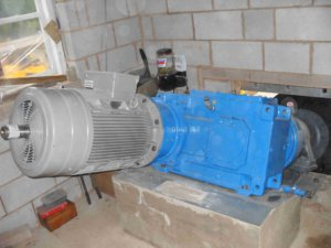 generator and gearbox